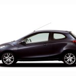 Mazda 2 3 Door Sideview Wallpaper