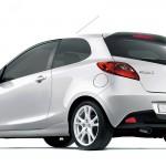 Mazda 2 3 Door White Wallpaper