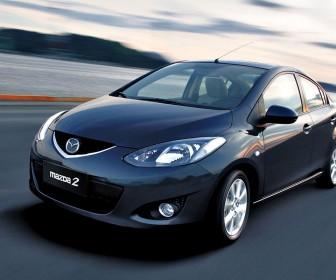 Mazda 2 Sedan Front Angle Wallpaper