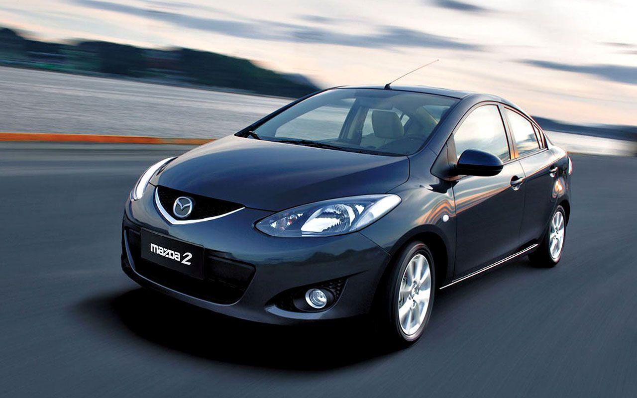 Mazda 2 Sedan Front Angle Wallpaper 1280x800