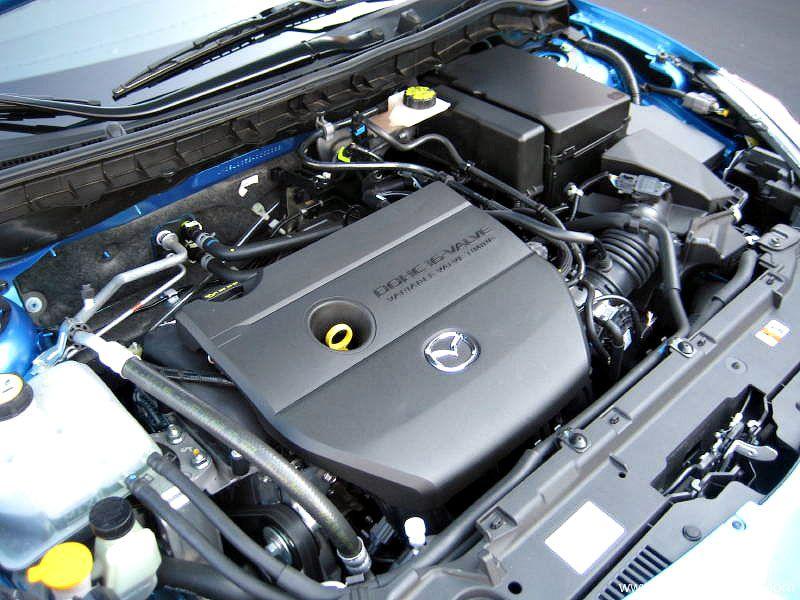 Mazda 3 2010 Engine Wallpaper 800x600