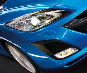 Mazda 3 2010 Headlamps Wallpaper