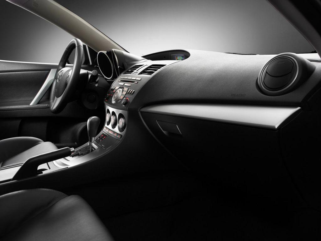 Mazda 3 2010 Interior Wallpaper 1024x768