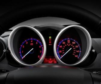 Mazda 3 2010 Sedan Instrument Panel Wallpaper