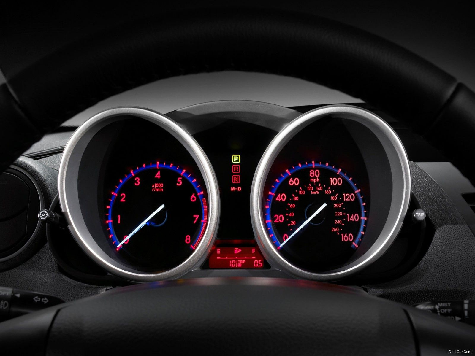 Mazda 3 2010 Sedan Instrument Panel Wallpaper 1600x1200