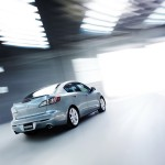 Mazda 3 2010 Sedan Rear View Wallpaper