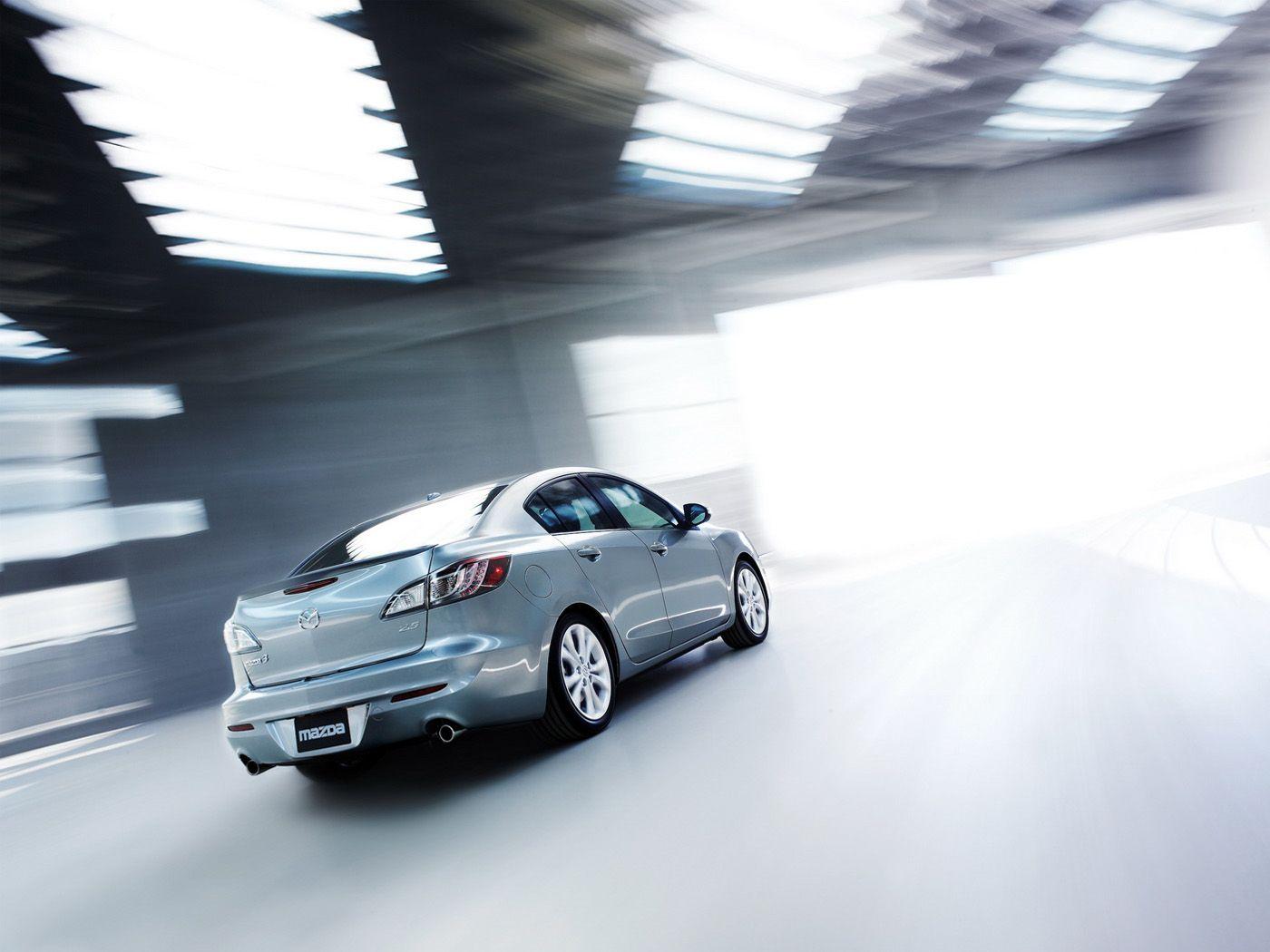 Mazda 3 2010 Sedan Rear View Wallpaper 1400x1050