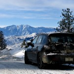 Mazda 3 Hatchback Winter Wallpaper