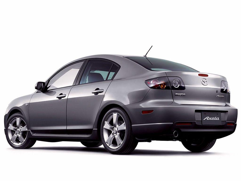 Mazda 3 Silver Axela Side Rear View Wallpaper 1024×768 ...