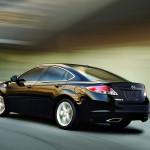 Mazda 6 Black Side Rear Angle Moving Wallpaper
