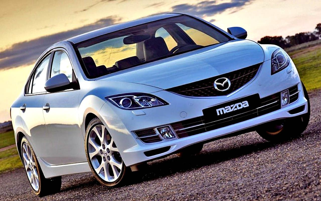 Mazda 6 Front Low Angle Wallpaper 1280x800