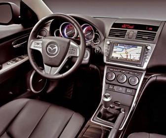 Mazda 6 Interior View Wallpaper