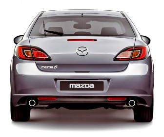Mazda 6 Rear End View Wallpaper