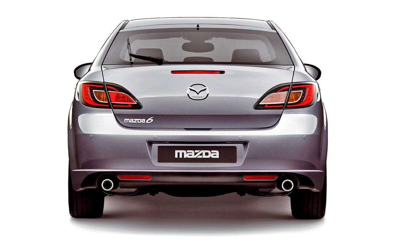 Mazda 6 Rear End View Wallpaper 1280x800