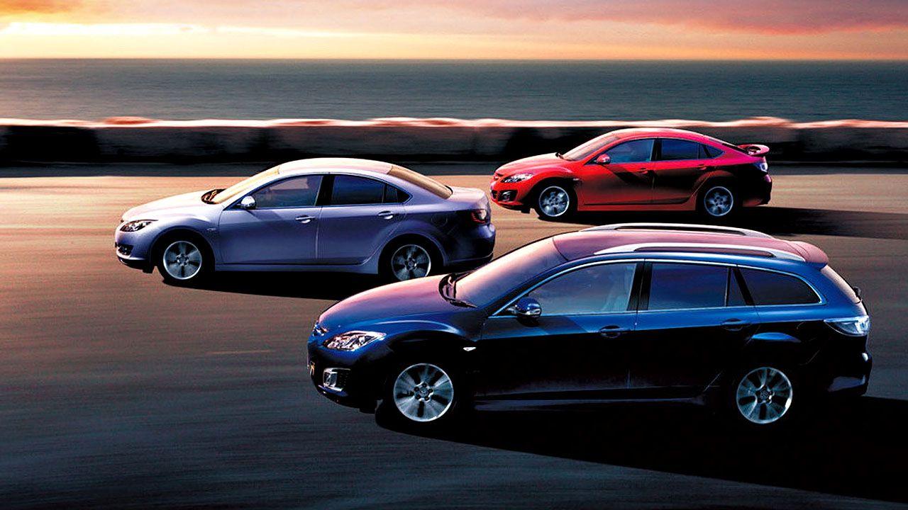 Mazda 6 Variants Side By Side Wallpaper 1280x720