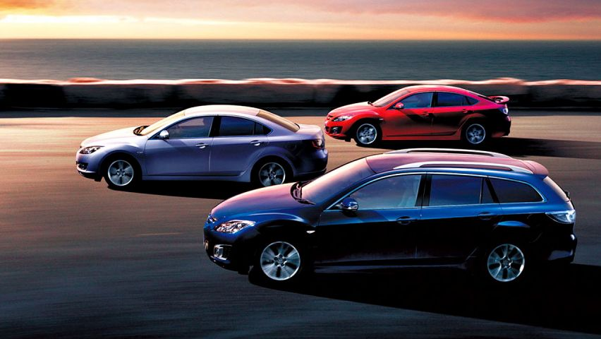 Mazda 6 Variants Side By Side Wallpaper 852x480