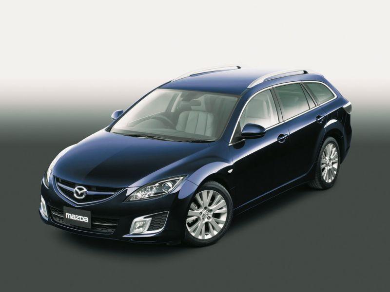 Mazda Atenza Wagon High Angle View Wallpaper 800x600