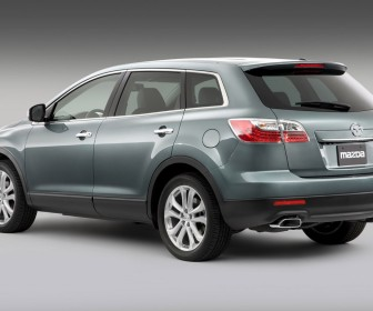 Mazda Cx9 Rear Side Angle Wallpaper