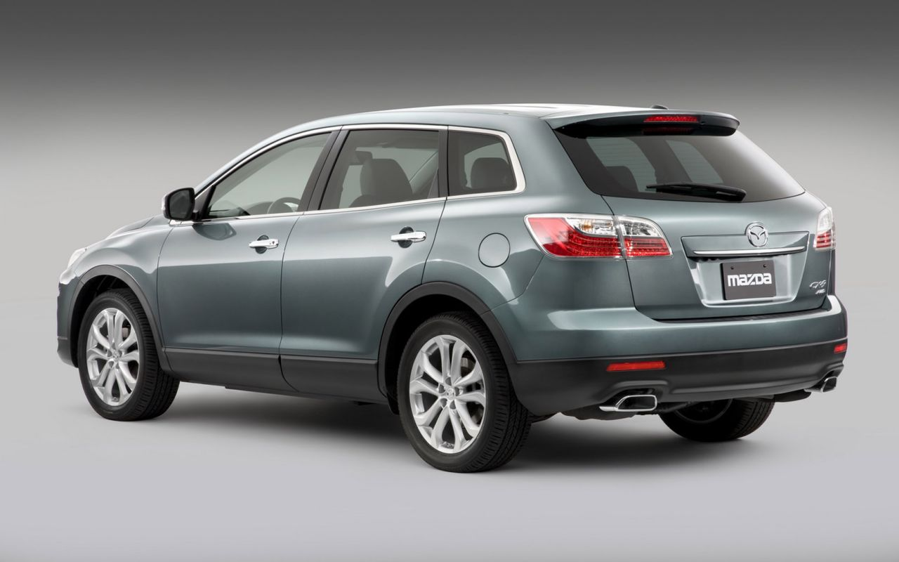 Mazda Cx9 Rear Side Angle Wallpaper 1280x800