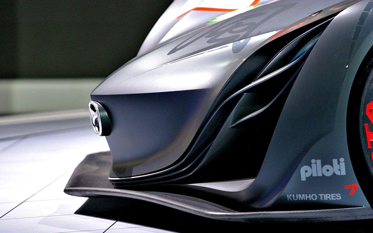 Mazda Furai Concept Bumper Side View Wallpaper 1280x800