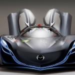Mazda Furai Concept Doors Open Front View Wallpaper