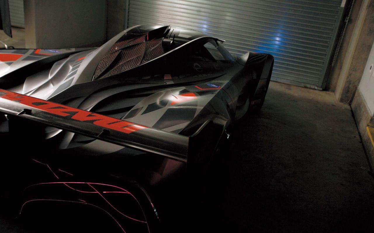 Mazda Furai Concept Inside Garage Wallpaper 1280x800