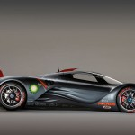 Mazda Furai Concept Side View Wallpaper
