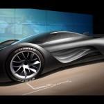Mazda Furai Conecpt Spotlight Wallpaper