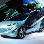 Mazda Kiyora Concept Wing Doors Open Wallpaper