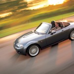 Mazda Mx5 High Angle Top Down Wallpaper