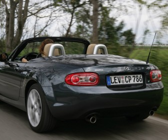 Mazda Mx5 Rear Angle Moving Wallpaper