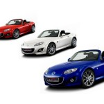 Mazda Mx5 Red White Blue Colors Wallpaper