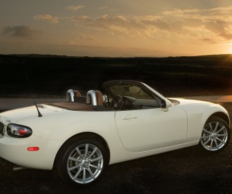Mazda Mx5 Side View Sunset Wallpaper