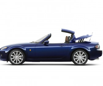Mazda Mx5 Side View Top Opening Wallpaper