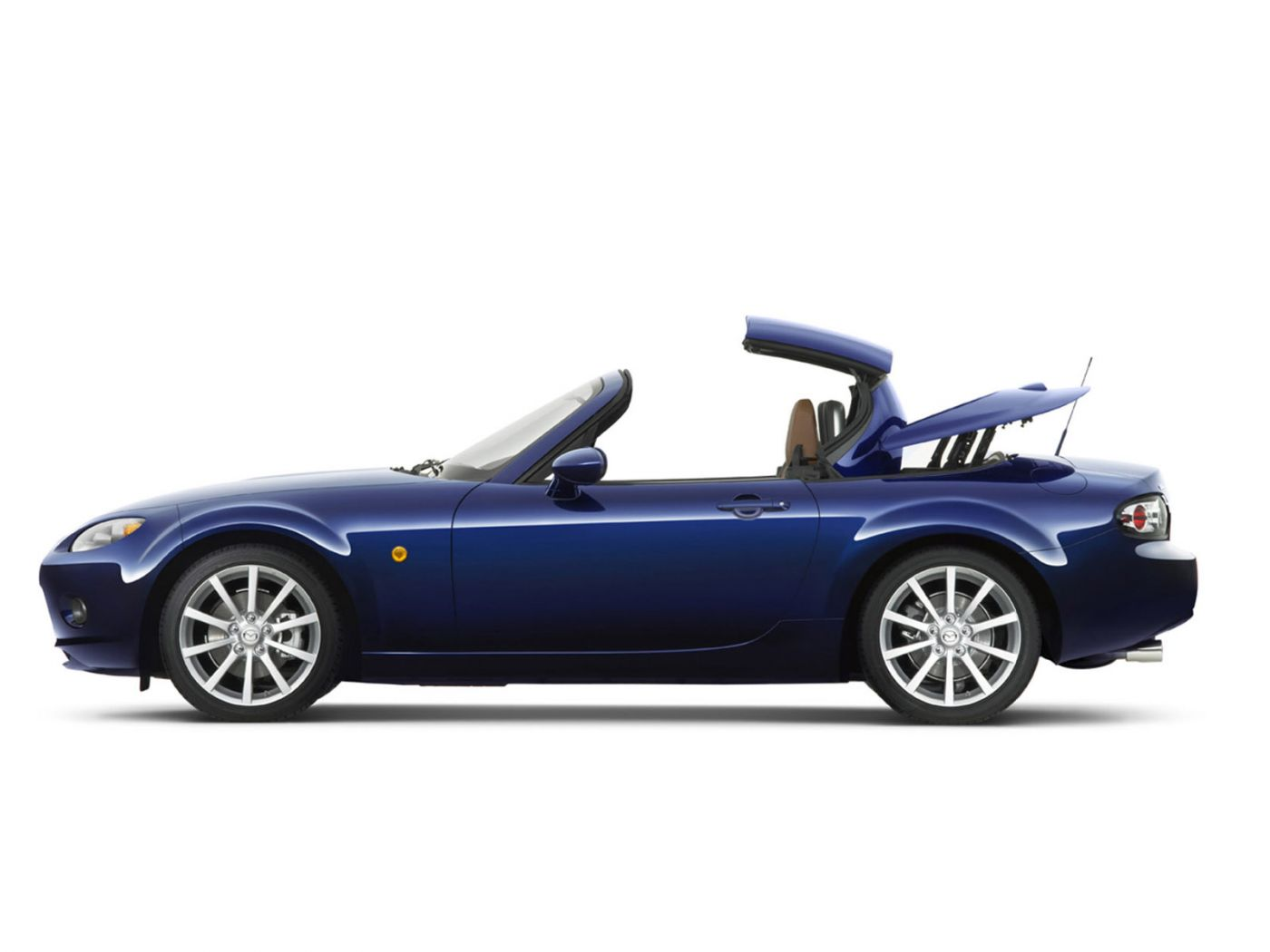 Mazda Mx5 Side View Top Opening Wallpaper 1400x1050