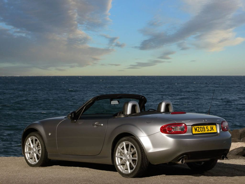 Mazda Mx5 Top Down By The Sea 1024x768