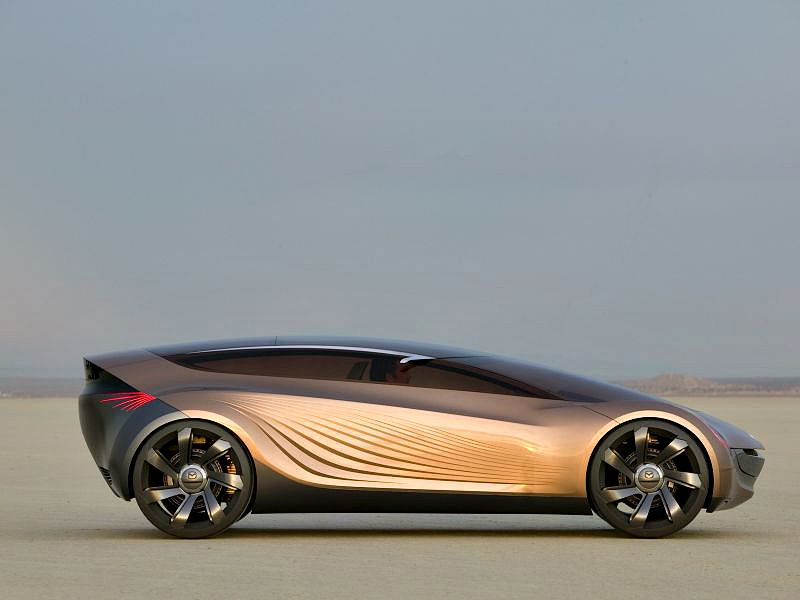 Mazda Nagara Concept Side View Desert Wallpaper 800x600