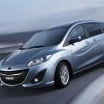 Mazda Premacy 2010 Front Side Angle Wallpaper