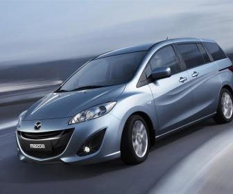 Mazda Premacy 2010 Front Side Angle Wallpaper