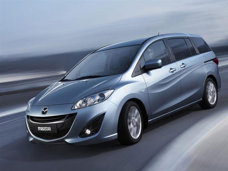 Mazda Premacy 2010 Front Side Angle Wallpaper 800x600