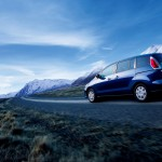 Mazda Premacy Long Road Wallpaper