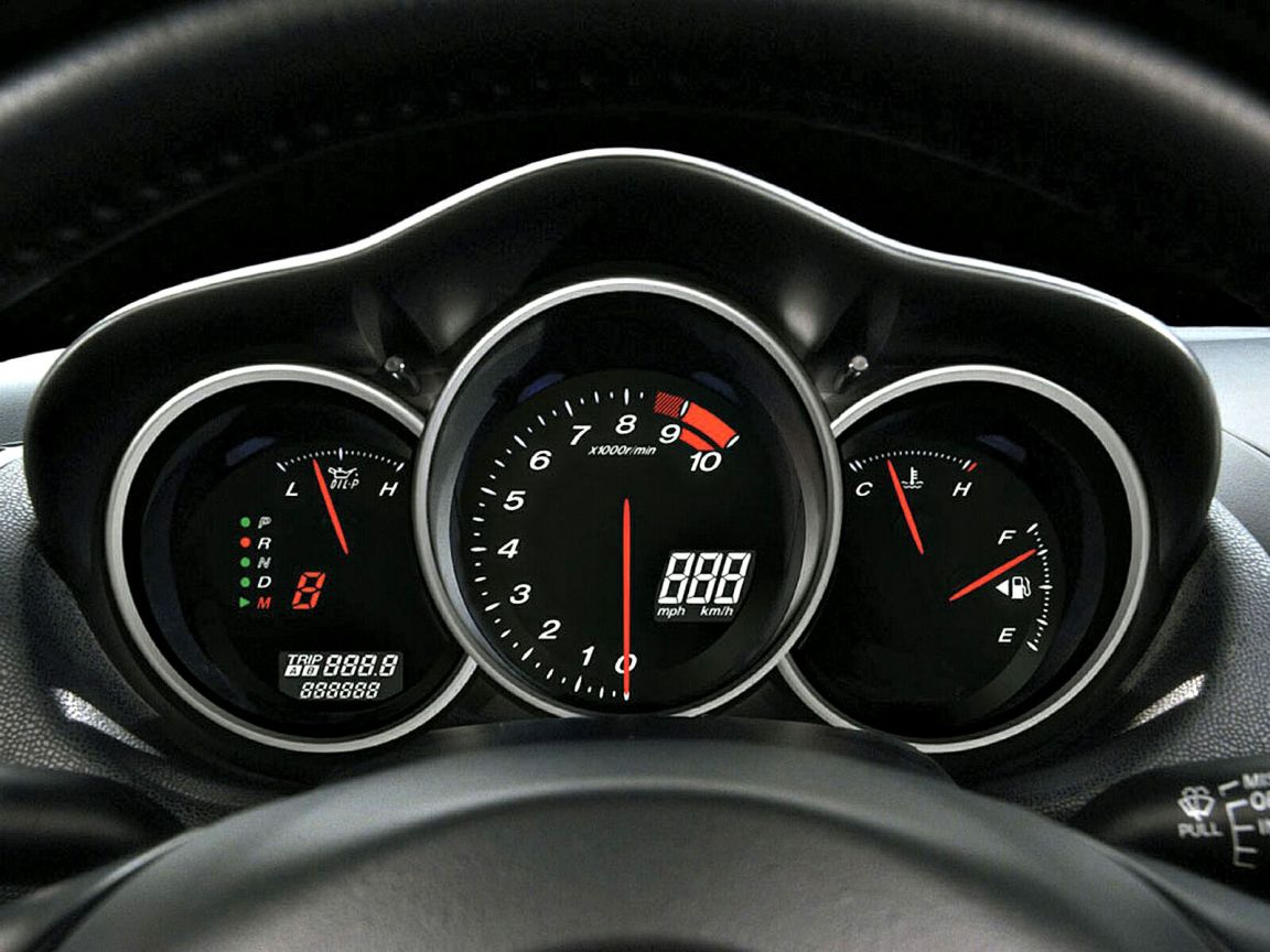 Mazda Rx8 Gauges Wallpaper 1152x864