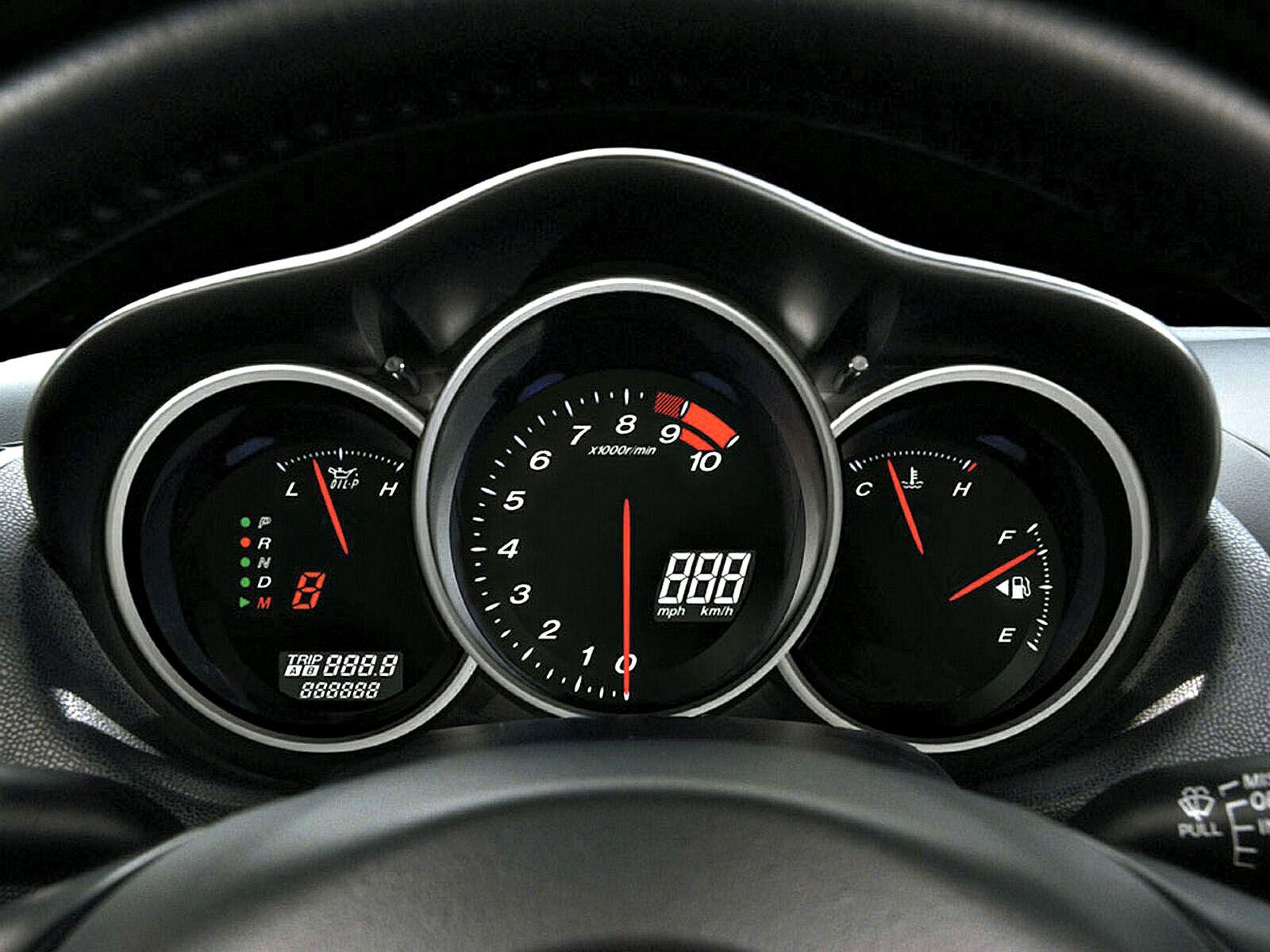 Mazda Rx8 Gauges Wallpaper 1600x1200