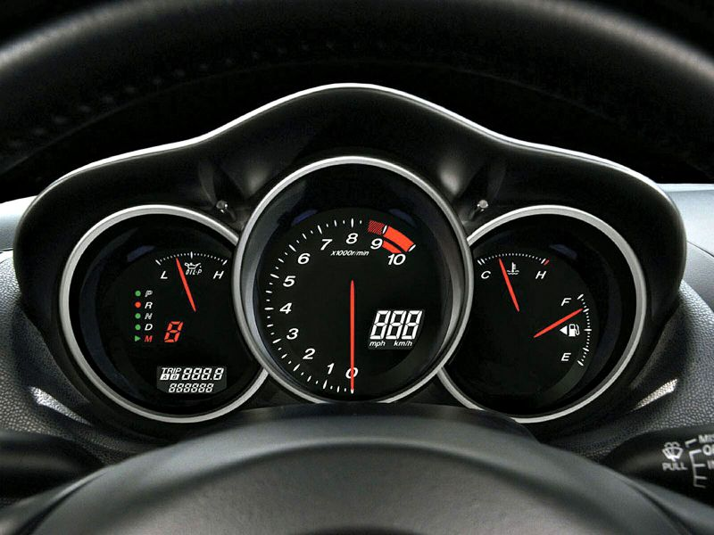 Mazda Rx8 Gauges Wallpaper 800x600