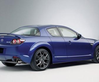 Mazda Rx8 Rear Side Angle Wallpaper