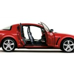 Mazda Rx8 Side View Doors Open Wallpaper