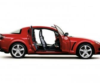 Mazda Rx8 Side View Doors Open Wallpaper