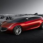 Mazda Ryuga Concept Desert Wallpaper