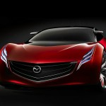 Mazda Ryuga Concept Front Low Angle Wallpaper
