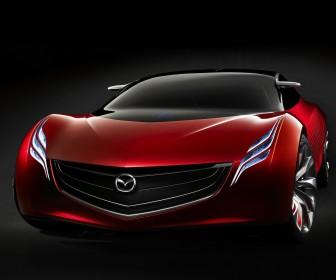 Mazda Ryuga Concept Front Low Angle Wallpaper